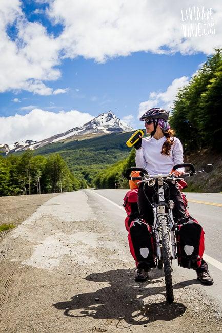 La Vida de Viaje-De una bici de paseo a un paseo por la 40-3