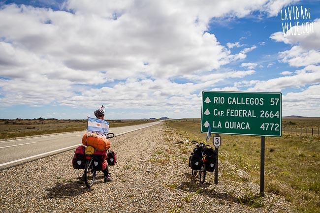 La Vida de Viaje-De una bici de paseo a un paseo por la 40-8