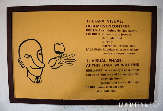 Se puede decir que aprendimos cómo se toma un buen vino