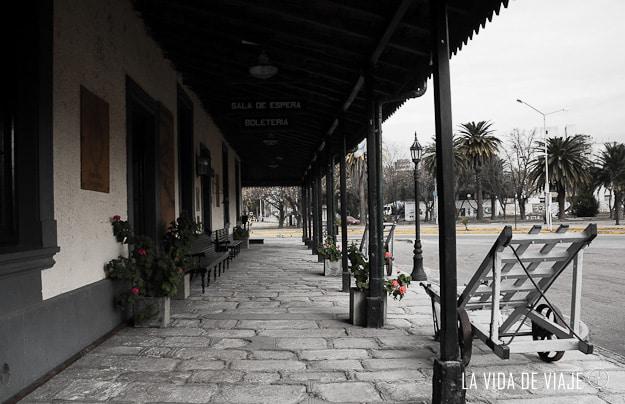 La vieja estación de tren