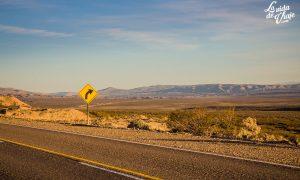 Ruta 40 en Neuquén (prolija y sinuosa)