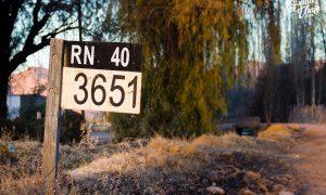 Ruta 40 en San Juan (ciudad y pueblo)