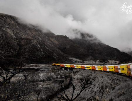 En el tren del cielo