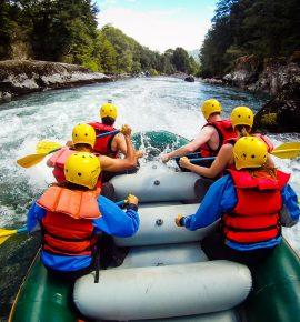 Rafting a la Frontera en el Río Manso (o el día que Jime no escribió en el blog)