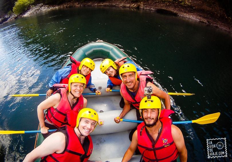 La Vida de Viaje-Rafting-1