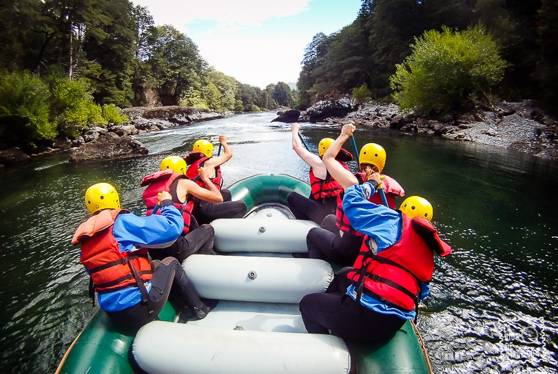 La Vida de Viaje-Rafting-2