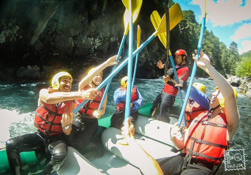 La Vida de Viaje-Rafting-23