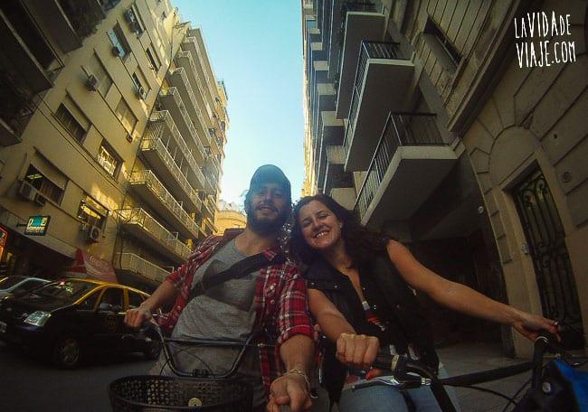 La Vida de Viaje-bicicleta naranja-21
