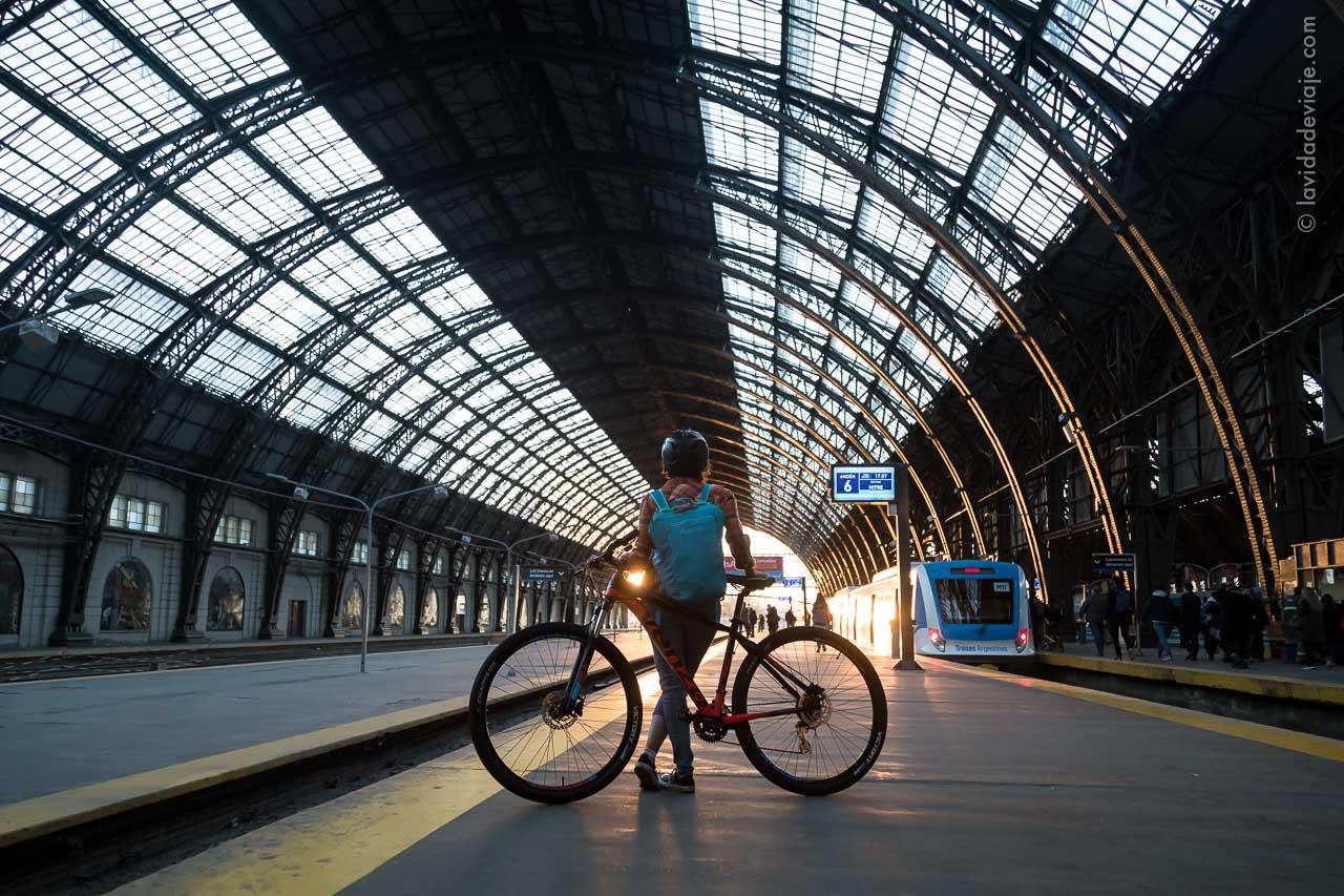 buenos aires en bici. Recoleta y Palermo