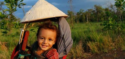viajar en familia viajar en bicicleta-La Vida de Viaje-Laos2