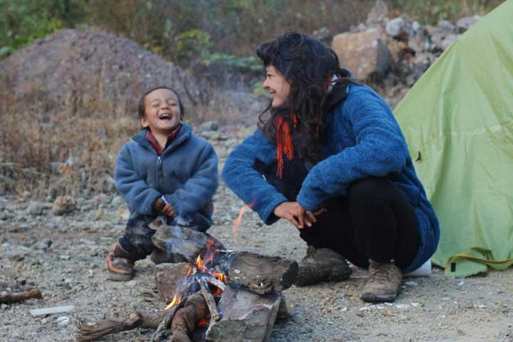 viajar en familia viajar en bicicleta-La Vida de Viaje-Sichuan-China
