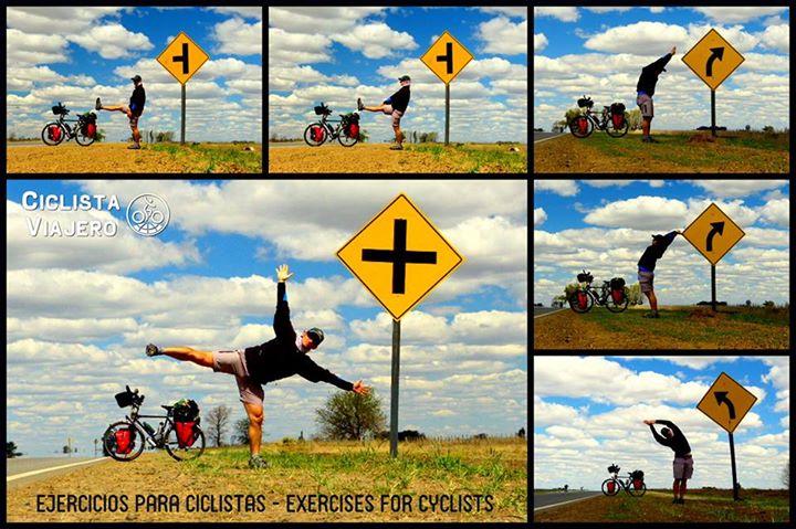 ejercicios para ciclistas-ciclista viajero