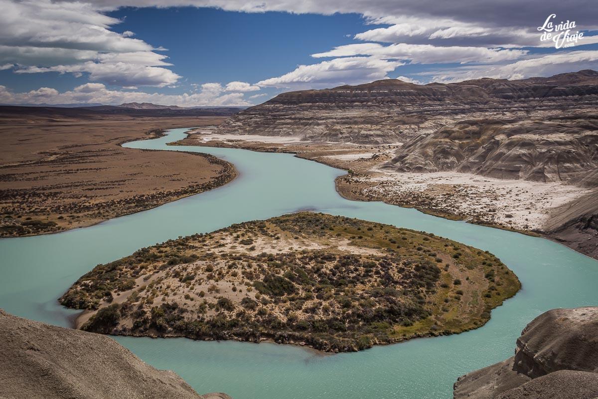 kayak rio la leona_el calafate_la vida de viaje