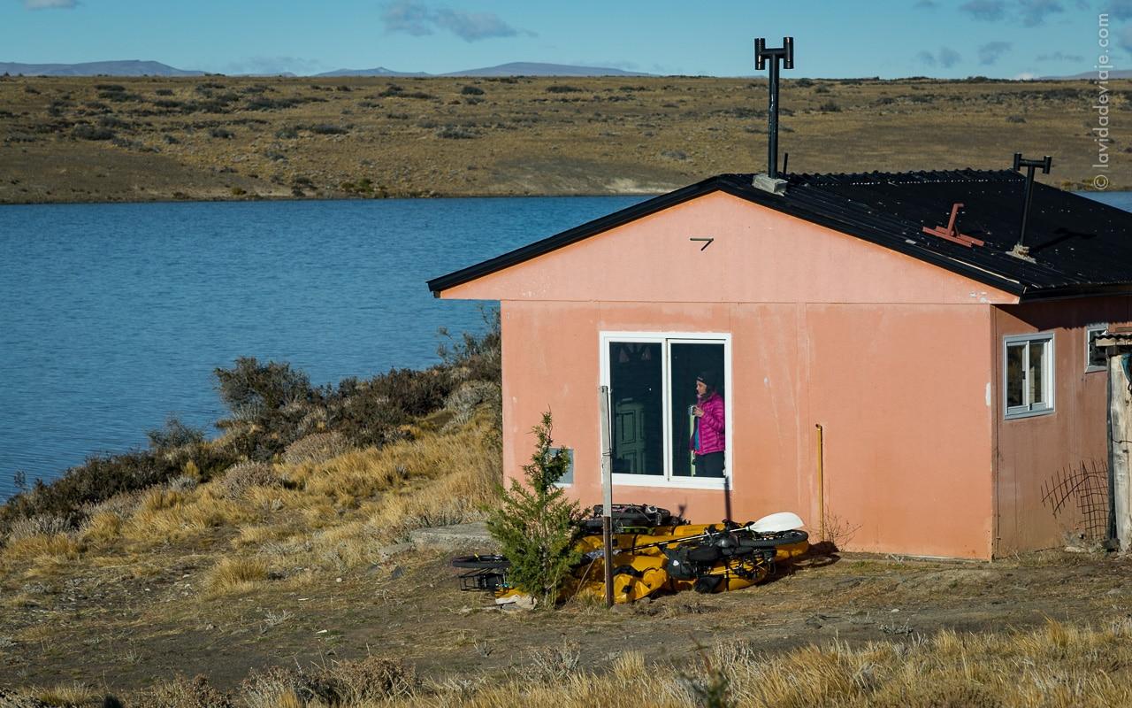 la vida de viaje - bikerafting - rio santa cruz -