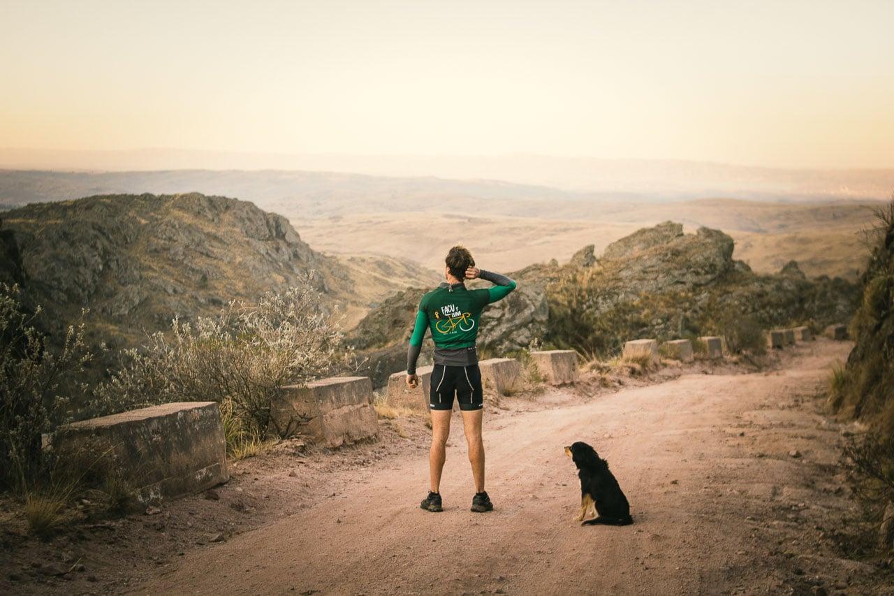 viajar en bici con perros