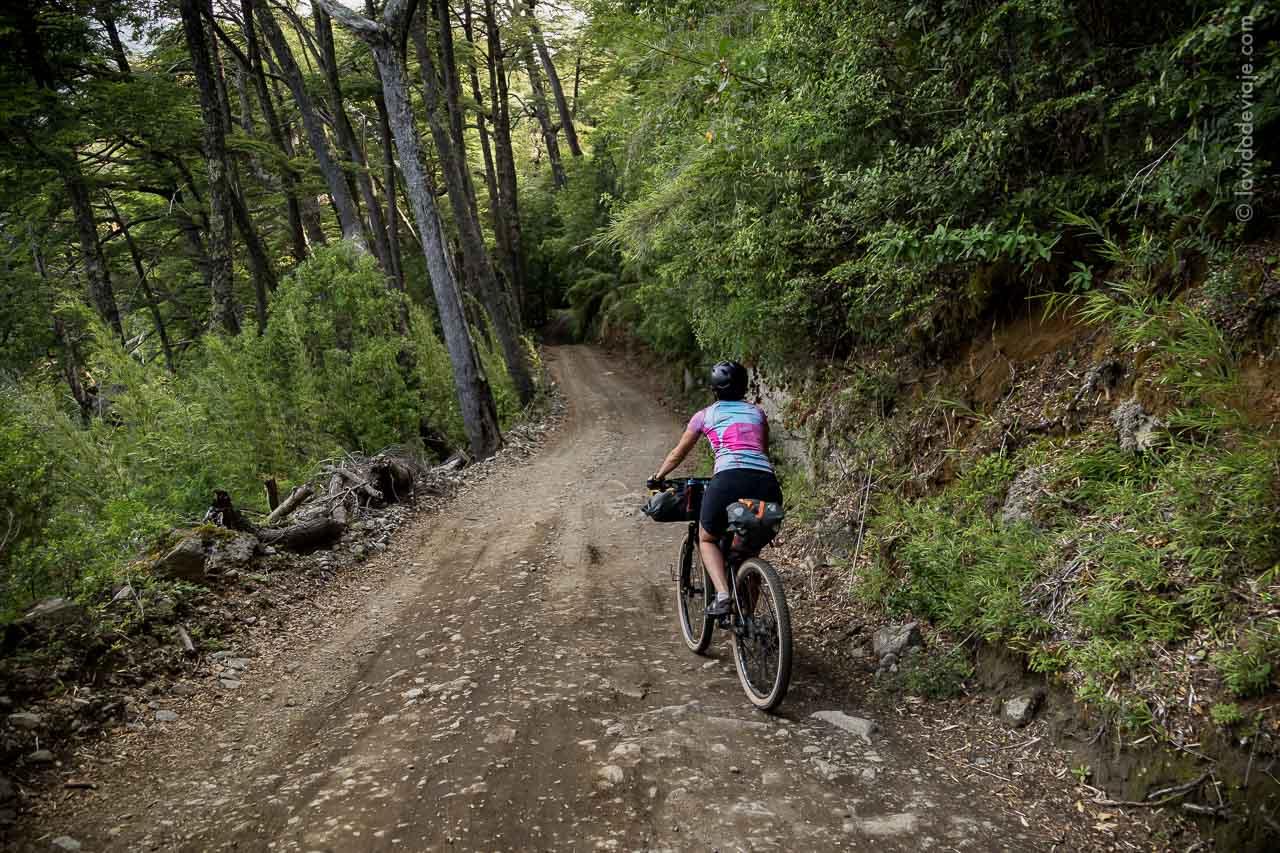 PN LANIN en bicicleta